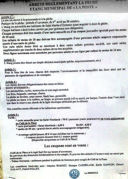 Wędkowanie Francja - Regulamin połowu - Francja