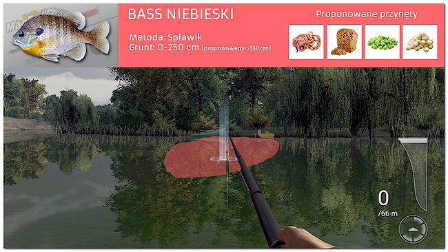 Bass Niebieski Fishing Planet