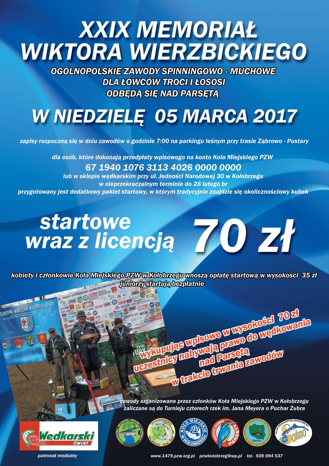 XXIX Ogólnopolskie Trociowe Zawody Spinningowo-Muchowe