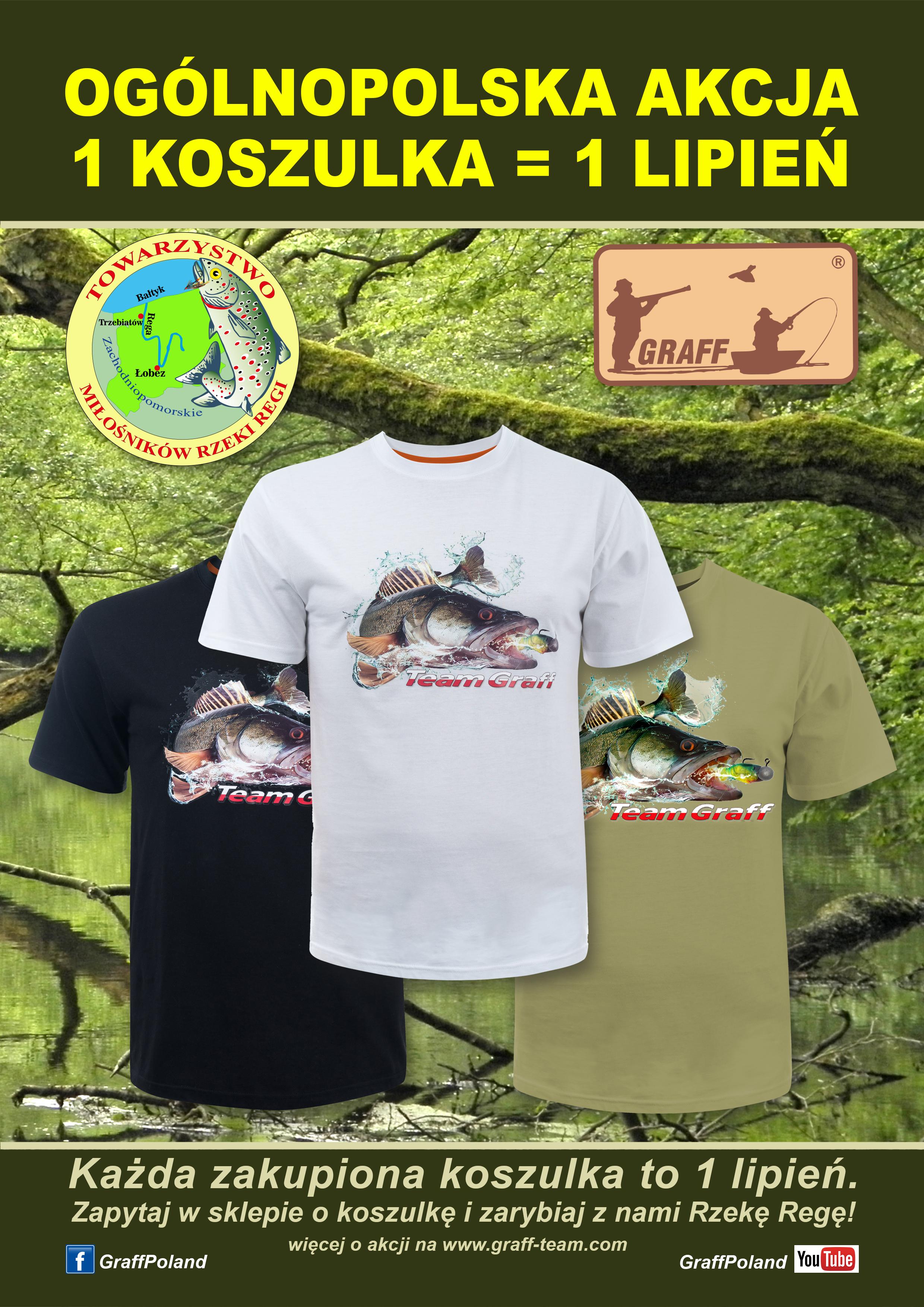 Ogólnopolska akcja 1 koszulka = 1 lipień dla Regi
