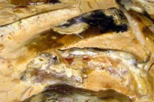 Karp w Śmietanie - potrawa wigilijna