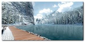 Jezioro Biały Łoś (Alberta)
