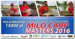 Milo Carp Masters 2016