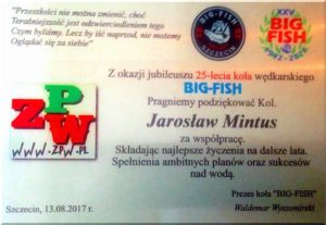 Puchar Koła Big Fish 2017