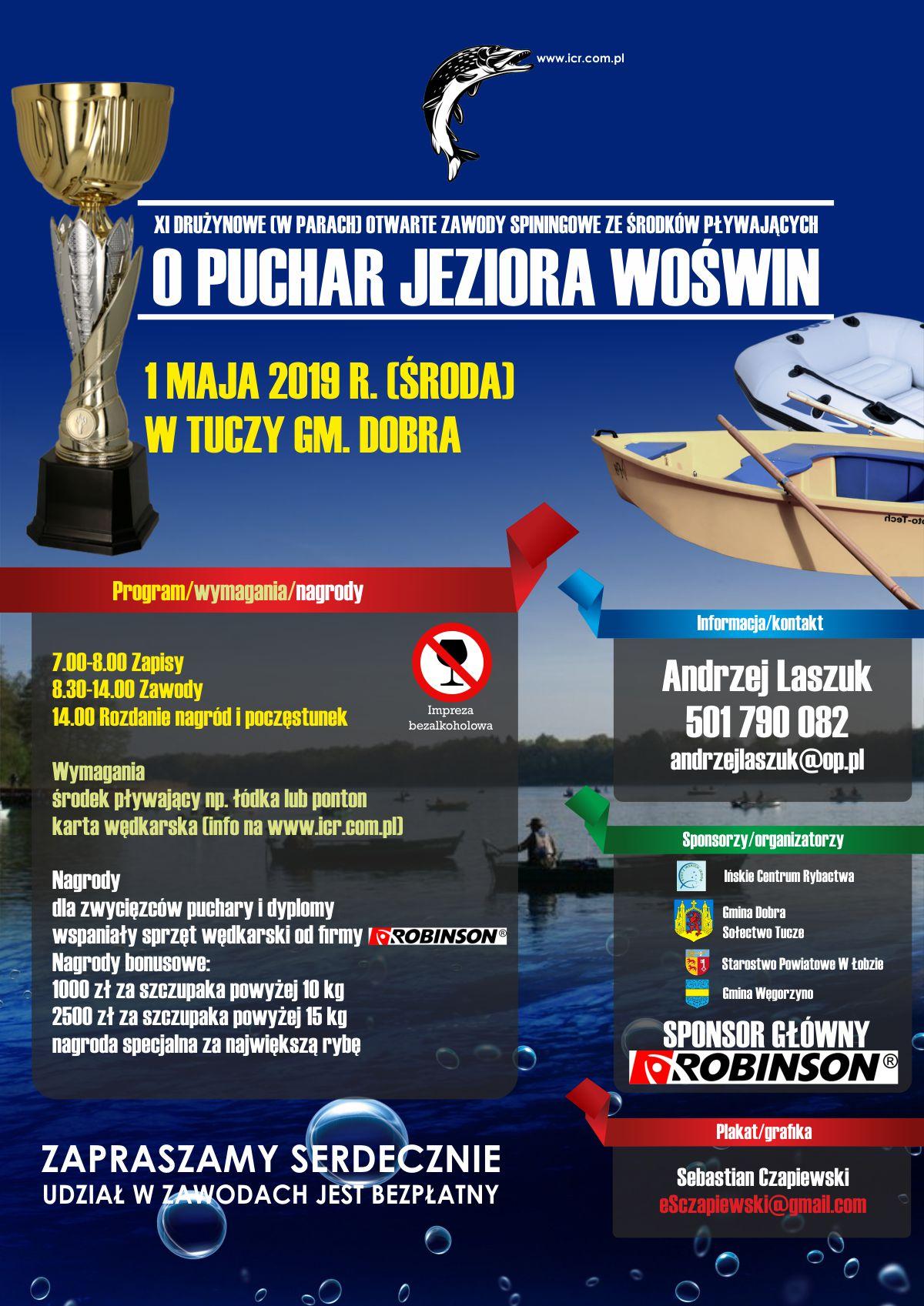 Puchar jeziora Woświn 2019