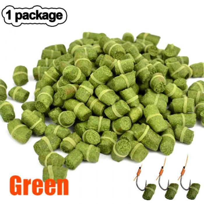 zielony pellet